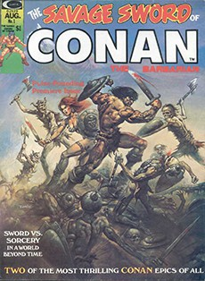 Читать Savage Sword of Conan / Конан. Карающий меч онлайн