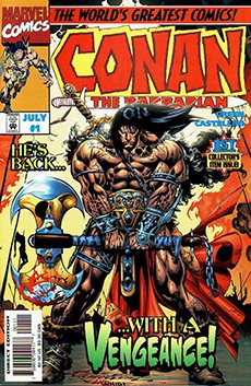 Читать Conan the Barbarian: Stalker of the Woods / Конан Варвар: Ловчие Леса онлайн