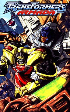 Читать Transformers: Armada mini-comics / Трансформеры: Армада мини-серия онлайн