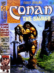 Читать Conan the Savage / Конан Дикарь онлайн