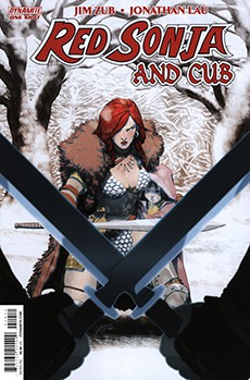 Читать Red Sonja and Cub / Рыжая Соня и Львёнок онлайн