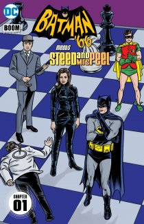 Читать Batman '66 Meets Steed and Mrs Peel онлайн