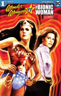 Читать Wonder Woman '77 Meets The Bionic Woman онлайн