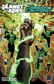Читать Planet of the Apes: Green Lantern онлайн