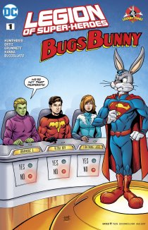 Читать Legion of Super Heroes - Bugs Bunny Special онлайн