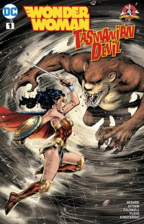 Читать Wonder Woman: Tasmanian Devil Special онлайн